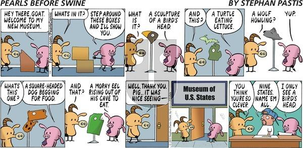 Pearls Before Swine on Sunday December 6, 2015 Comic Strip