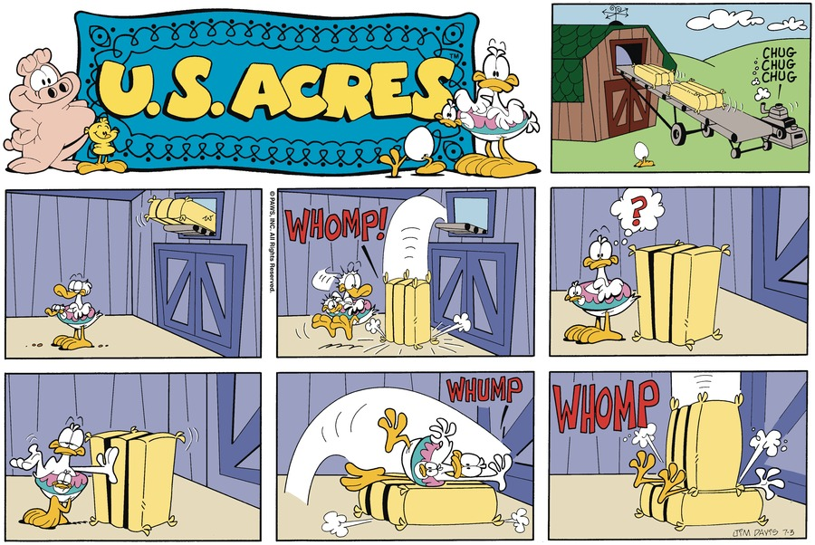U.S. Acres for Jun 30, 2013 Comic Strip