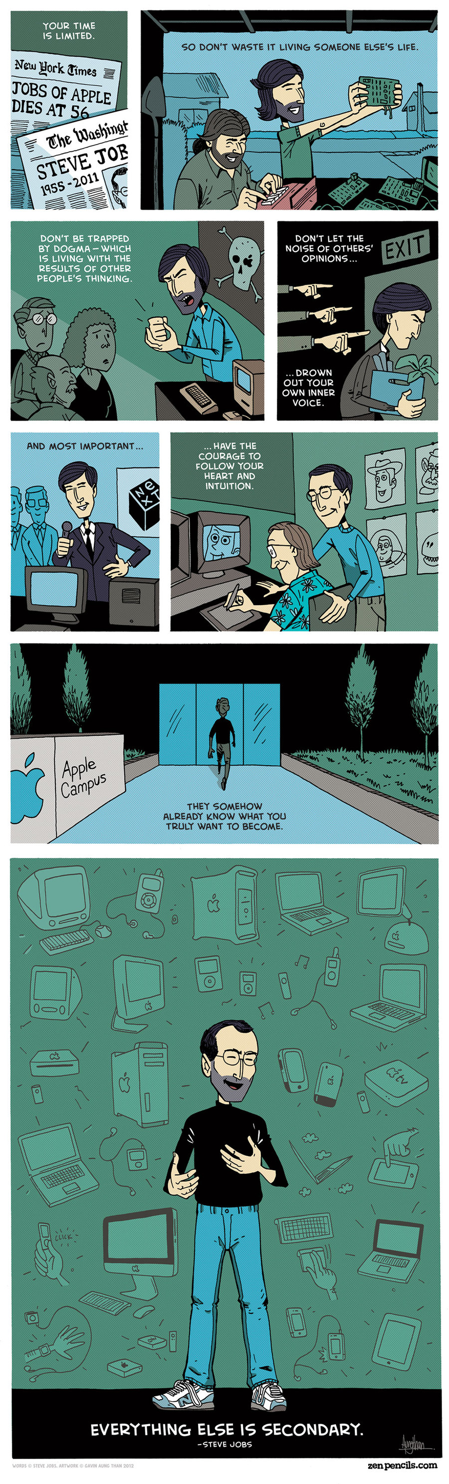 Zen Pencils Comic Strip for August 16, 2013