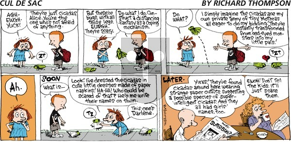 Cul de Sac on Sunday October 15, 2017 Comic Strip