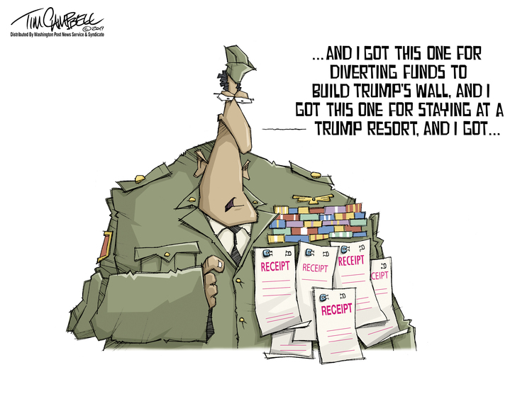 Tim Campbell Comic Strip for September 10, 2019