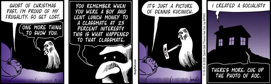 Rudy Park Comic Strip for November 15, 2019