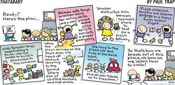 Thatababy for Jun 12, 2011 Comic Strip