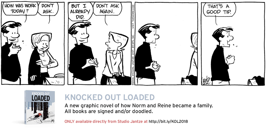 The Norm Classics Comic Strip for February 18, 2019