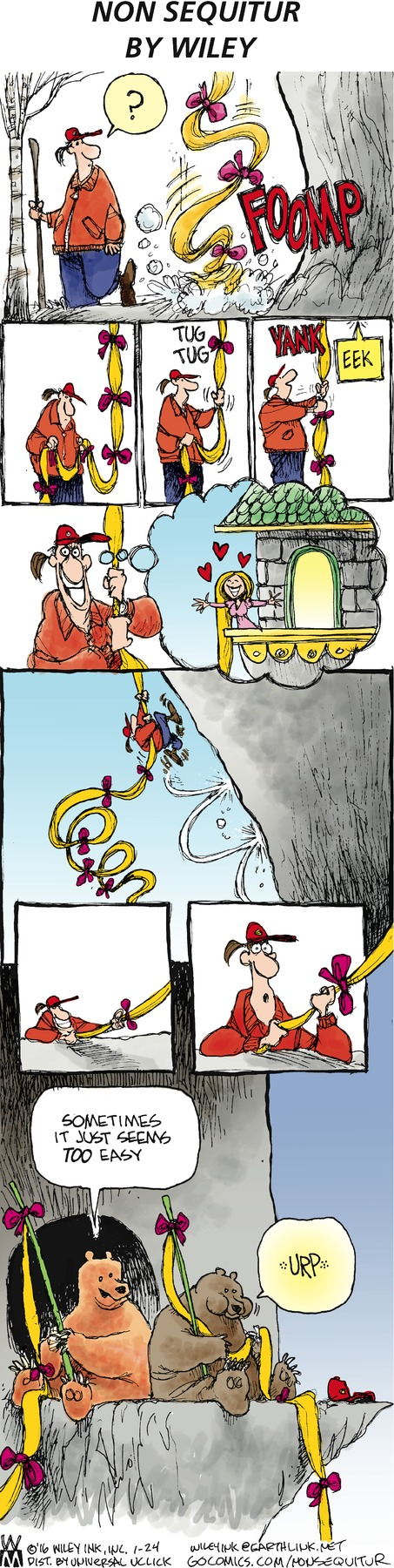 Non Sequitur Comic Strip for January 24, 2016