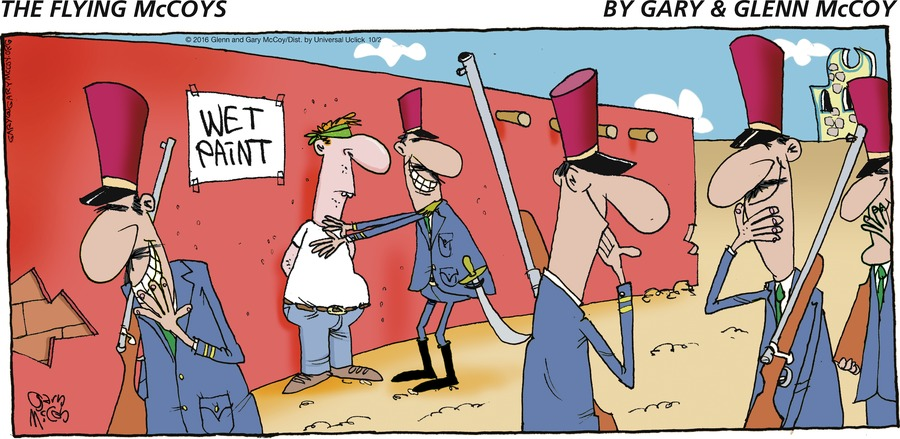 The Flying McCoys Comic Strip for October 02, 2016