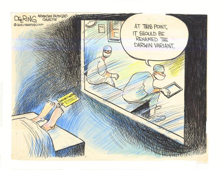 John Deering Comic Strip for July 27, 2021