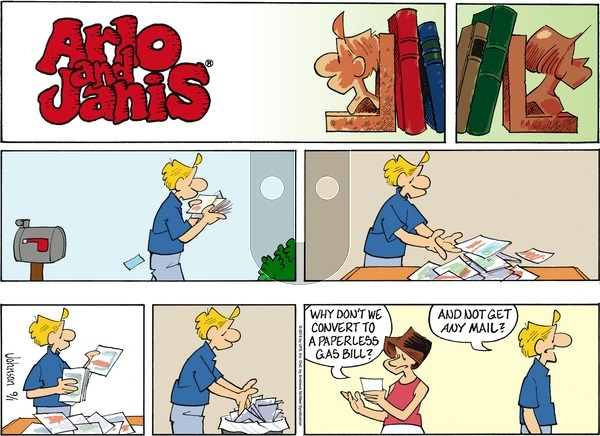 Arlo and Janis on Sunday September 1, 2019 Comic Strip