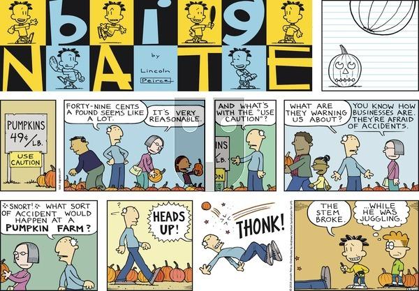Big Nate on Sunday October 14, 2018 Comic Strip