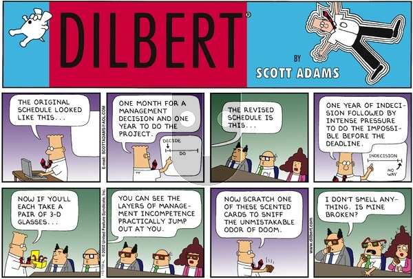 Dilbert - Sunday November 17, 2002 Comic Strip