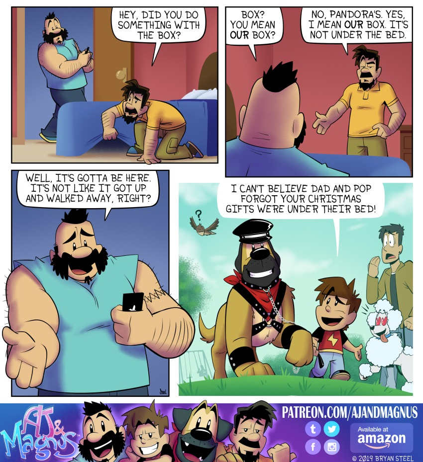 AJ and Magnus Comic Strip for March 03, 2019