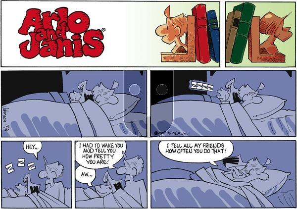 Arlo and Janis on Sunday December 9, 2007 Comic Strip