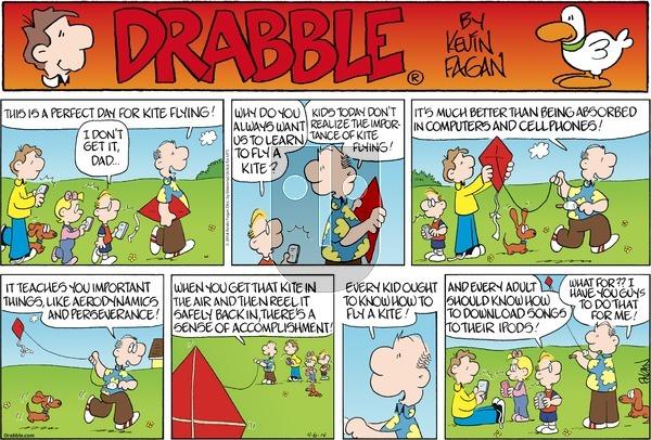 Drabble on Sunday April 6, 2014 Comic Strip