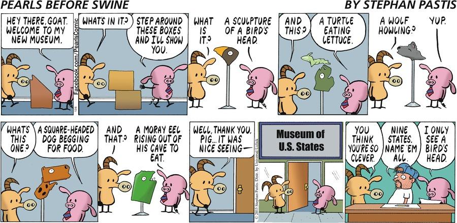 Pearls Before Swine for Dec 6, 2015 Comic Strip