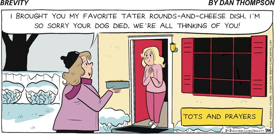 Brevity Comic Strip for February 03, 2019