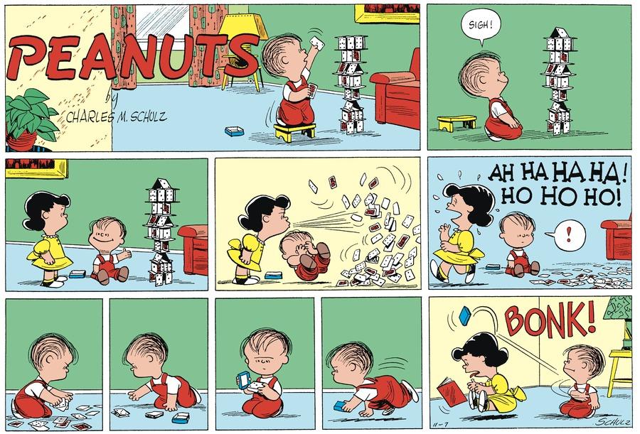 Peanuts Begins Comic Strip for November 27, 2018