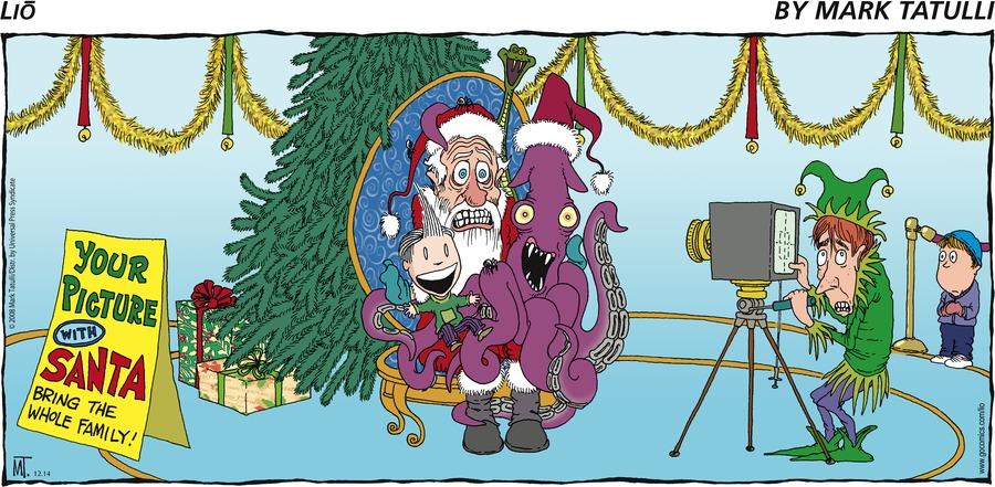 Lio Comic Strip for December 14, 2008