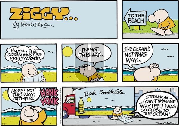 Ziggy on Sunday August 19, 2018 Comic Strip