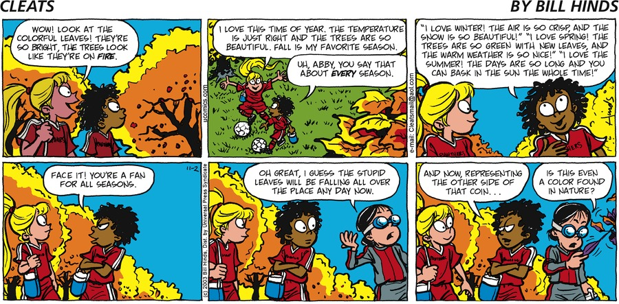 Cleats by Bill Hinds on Mon, 11 Oct 2021
