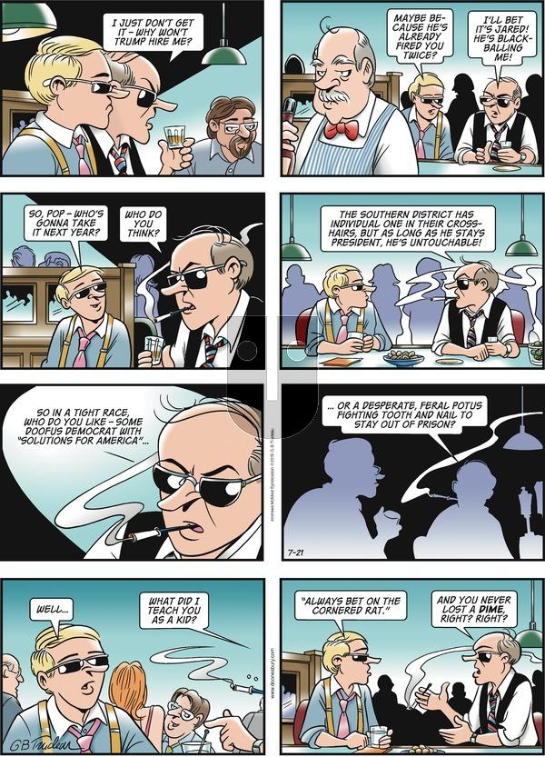 Doonesbury - Sunday July 21, 2019 Comic Strip