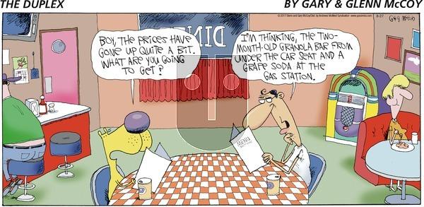 The Duplex on Sunday August 27, 2017 Comic Strip