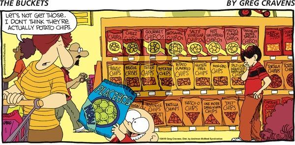 The Buckets - Sunday August 11, 2019 Comic Strip