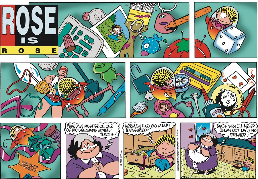Rose is Rose by Don Wimmer and Pat Brady for September 08, 2019