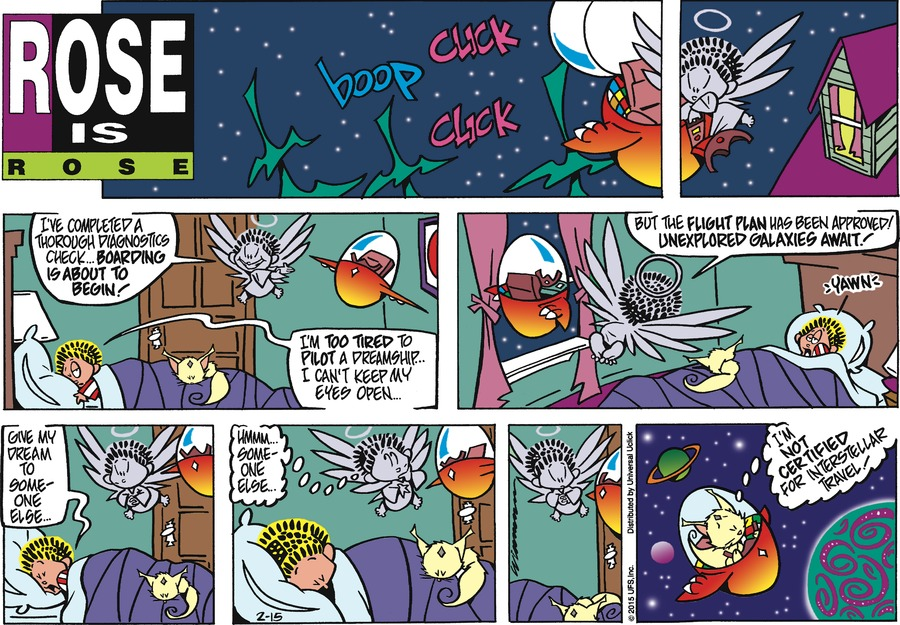 Rose is Rose Comic Strip for February 15, 2015