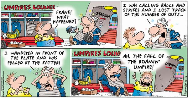 Frank and Ernest Comic Strip for October 16, 2005