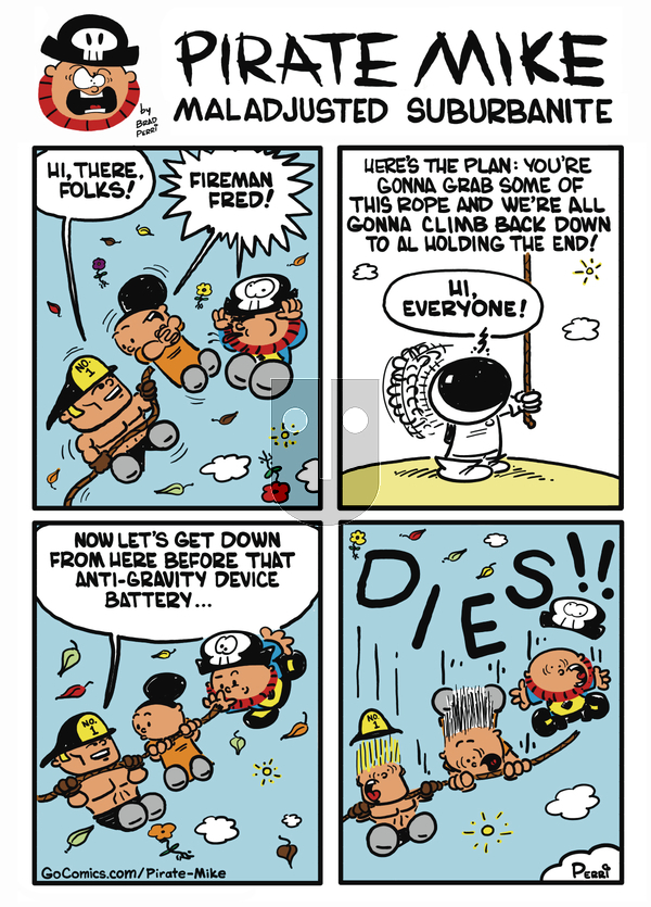 Pirate Mike - Tuesday October 22, 2019 Comic Strip