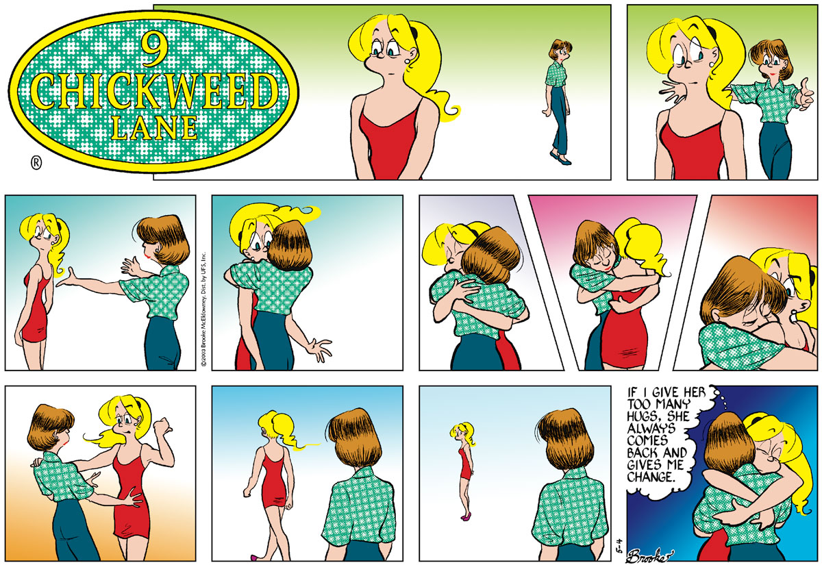 9 Chickweed Lane for May 4, 2003 Comic Strip