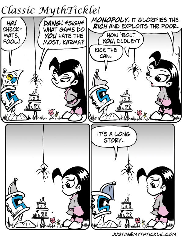 MythTickle for Mar 18, 2013 Comic Strip
