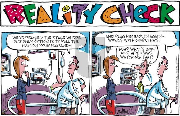 Reality Check on Sunday February 11, 2018 Comic Strip