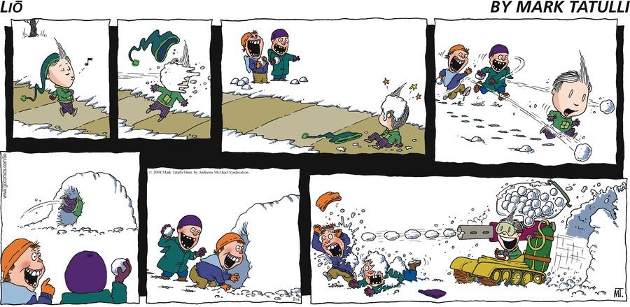 Lio for Feb 18, 2018 Comic Strip