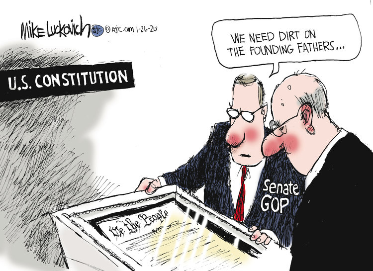 Mike Luckovich Comic Strip for January 26, 2020