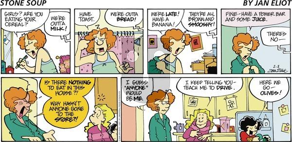Stone Soup on Sunday February 8, 2009 Comic Strip