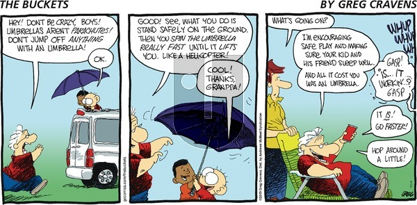 The Buckets on Sunday September 8, 2019 Comic Strip