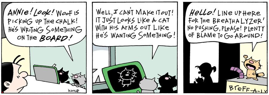 Ten Cats Comic Strip for April 01, 2016