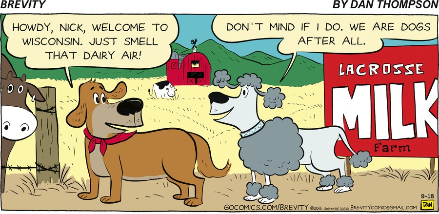 Brevity for Sep 18, 2016 Comic Strip