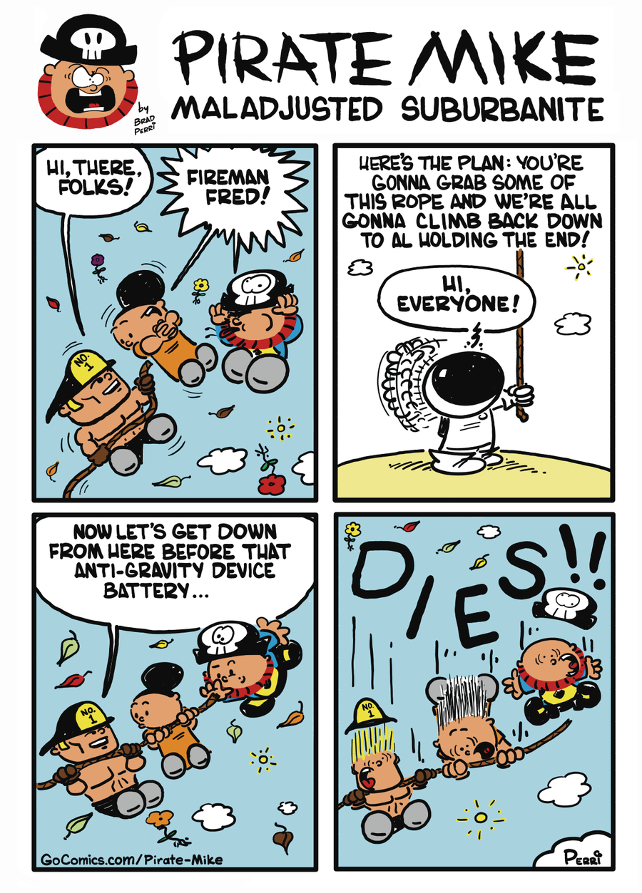 Pirate Mike Comic Strip for October 22, 2019