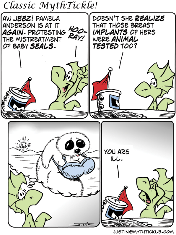MythTickle for Mar 13, 2013 Comic Strip