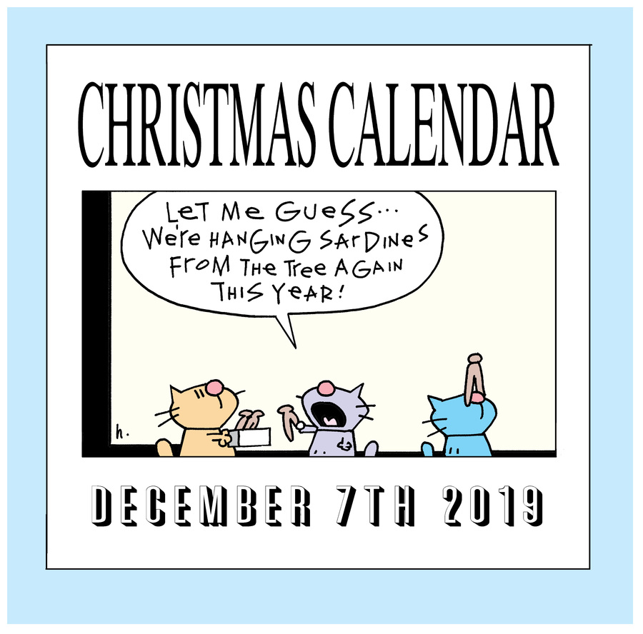 Ten Cats Comic Strip for December 07, 2019