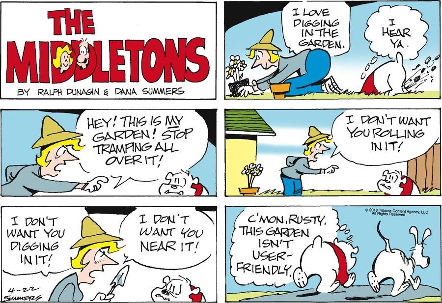 The Middletons Comic Strip for April 22, 2018