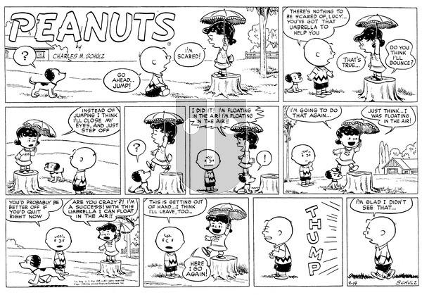 Peanuts on Sunday September 14, 1952 Comic Strip