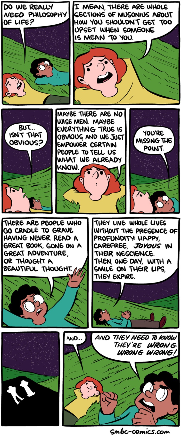 Saturday Morning Breakfast Cereal Comic Strip for August 07, 2016
