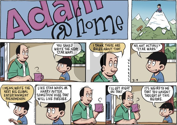 Adam@Home on Sunday February 9, 2020 Comic Strip