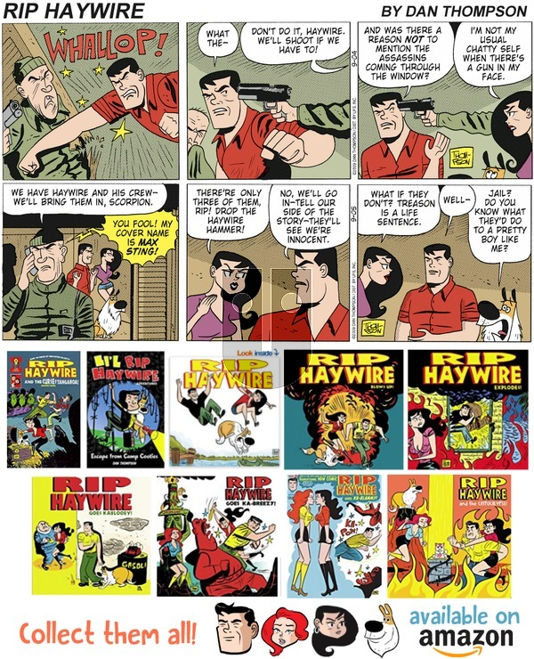 Rip Haywire on Sunday October 7, 2018 Comic Strip