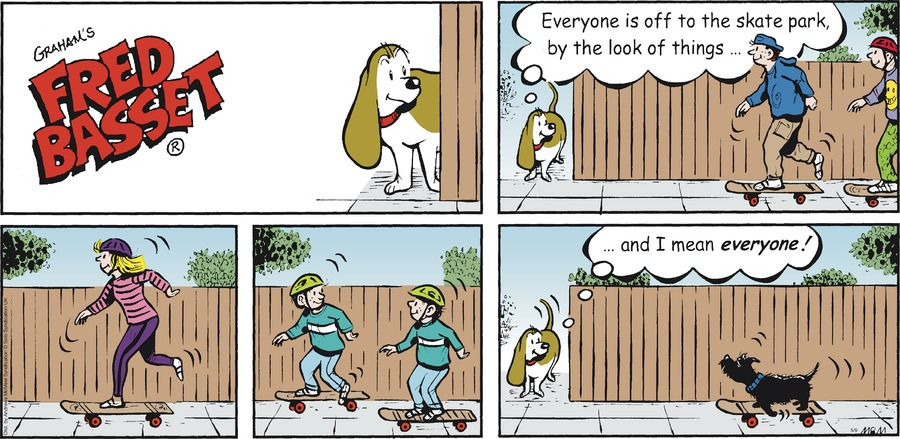 Fred Basset Comic Strip for May 09, 2021