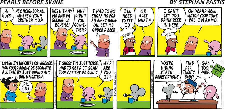 Pearls Before Swine Comic Strip for August 01, 2021