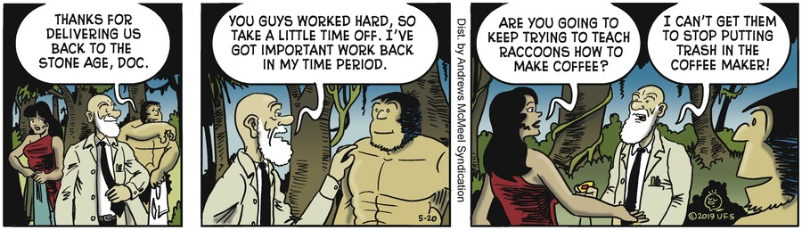 Alley Oop Comic Strip for May 20, 2019